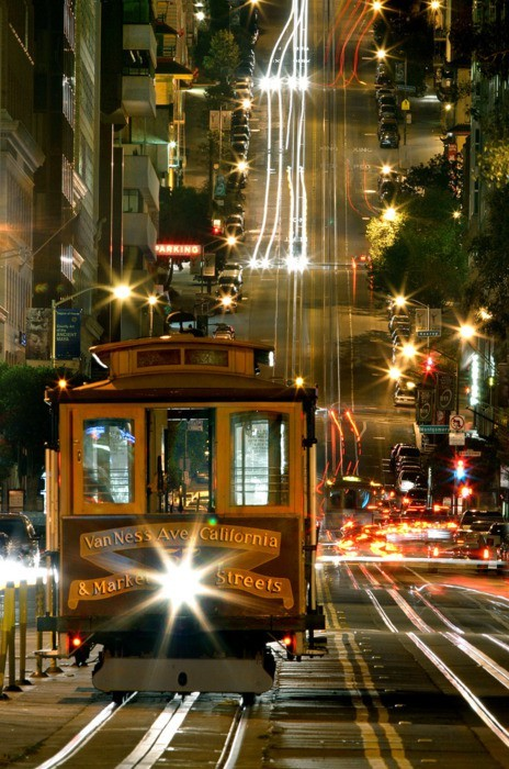 Cable Car, San Francisco.