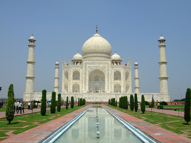 The Taj Mahal is a white Marble mausoleum located in Agra, India. It was built by Mughal emperor Shah Jahan in memory of his third wife, Mumtaz Mahal. The Taj Mahal is...