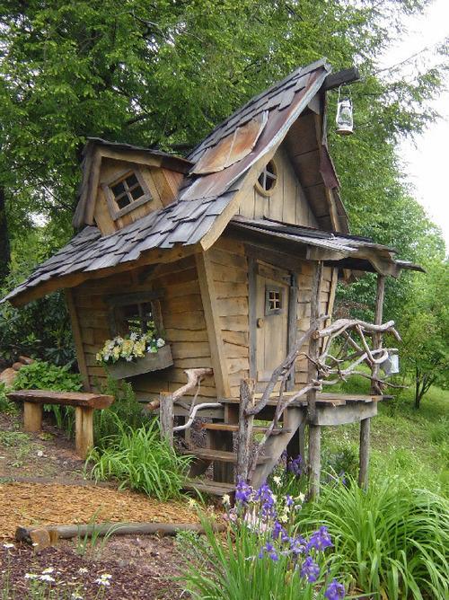 Fairy Tale House, Blue Ridge Mountains, Georgia