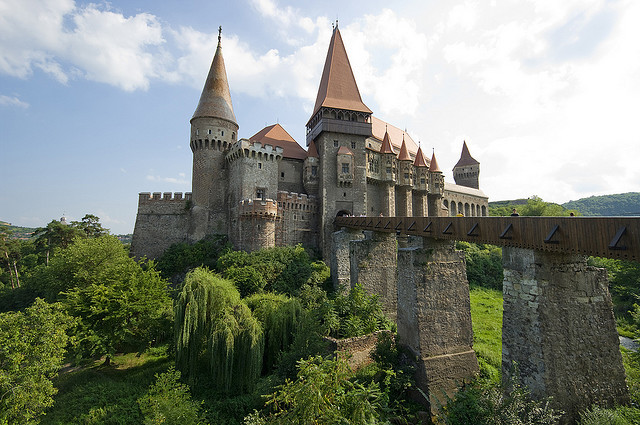 Castelul Huniazilor  is a Gothic-Renaissance castle in Hunedoara, Transylvania, present day Romania. In February 2007, Hunyad Castle played host to the British...