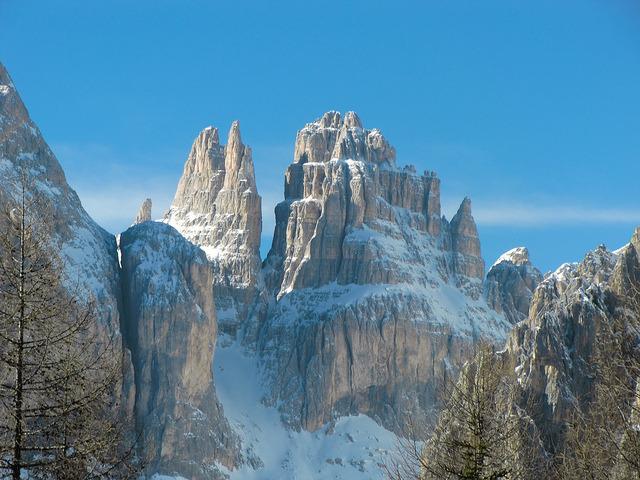 Torri del Vajolet - Catinaccio Group, Dolomites - Italy.