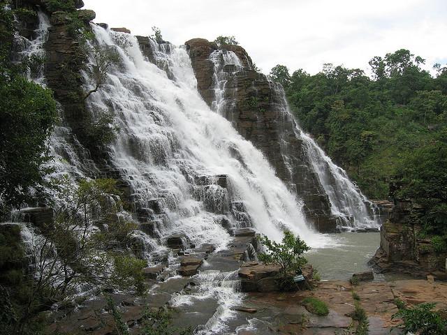 by abhisheksapre on Flickr.Tirathgarh Waterfalls situated in Kanger Valley National Park - state of Chhattisgarh, India.