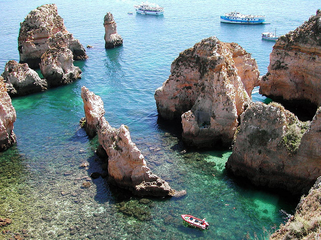 by fontxito on Flickr.Algarve Coast - Portugal.
