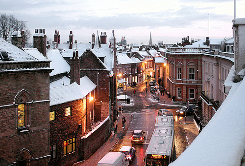 Winters Day, York, England