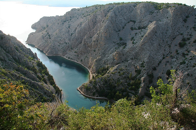 by winterstein on Flickr.Zavratnica is a 900 m long narrow inlet located at the foot of the mighty Velebit Mountains, Croatia. Regarded as one of the major tourist attractions of the northern coastal...
