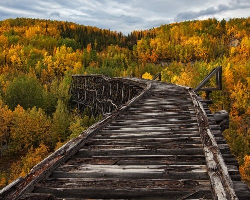 Abandoned Bridge, Alaska
