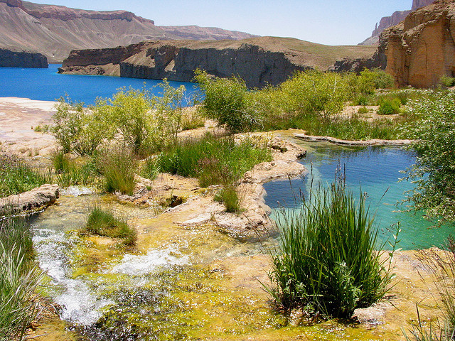 by Chris Kuhn on Flickr.Band-e-Amir Lakes in Bamyan Province of Afghanistan.