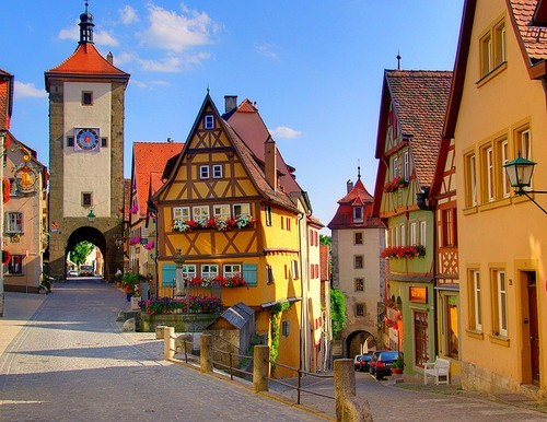 Scenic Village, Rothenburg, Germany