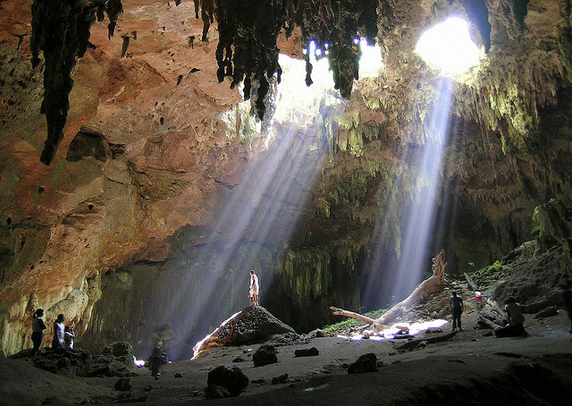 by guillermo larios on Flickr.Lol-Tun Caves in Yucatan Peninsula, Mexico.