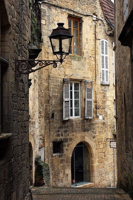 Ancient Street, Sarlat, France