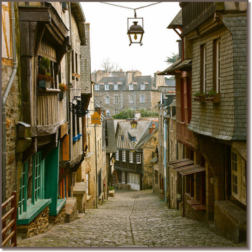 Ancient Village, Dinan, France