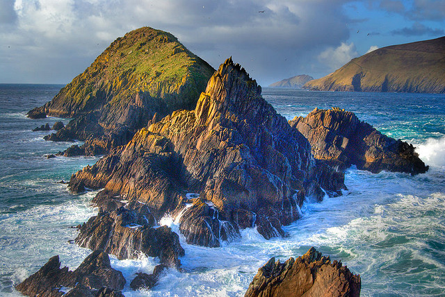 by Michael Fitzgerald on Flickr.Slea Head in County Kerry, Ireland.