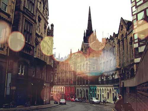 Old Town, Edinburgh, Scotland