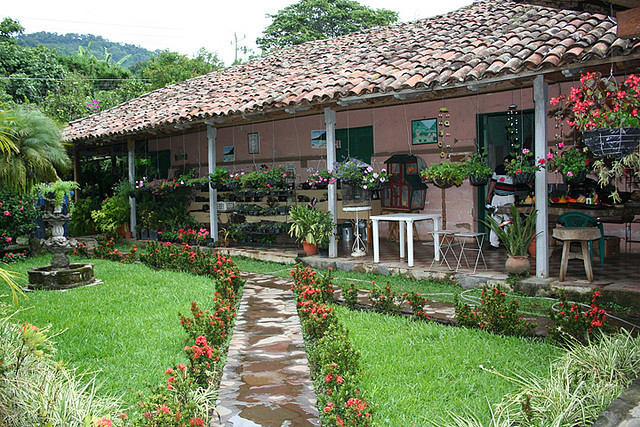 Hotel and Restaurant in Usulutan, El Salvador