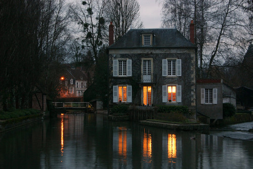 River House, Donzy, Burgundy, France