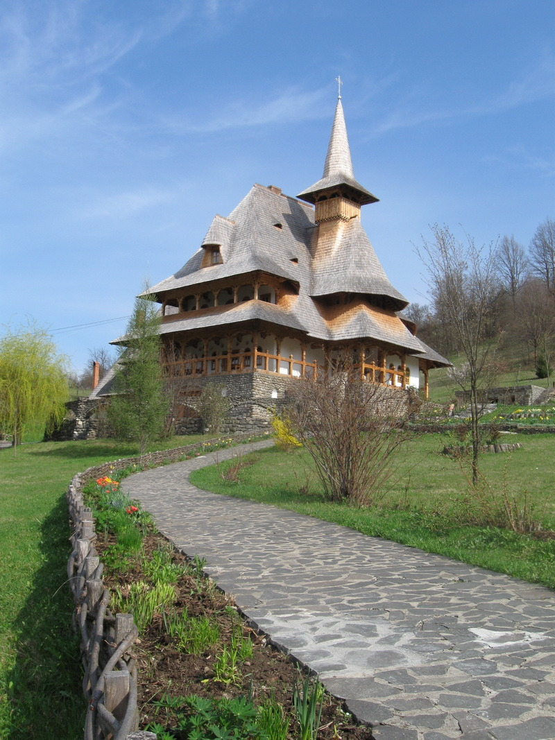 Barsana Monastery, Maramures, Romania . The last one for today, so, how about it, do you like it? :)