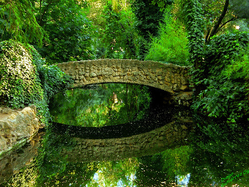 Stone Bridge, Seville, Andalusia, Spain