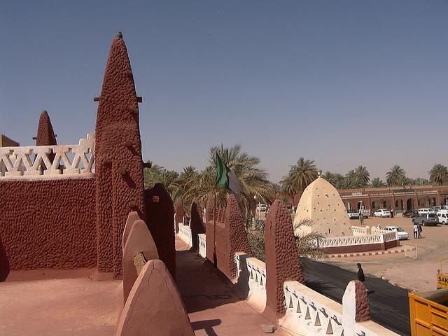 Saharian architecture in Timimoun city, Algeria