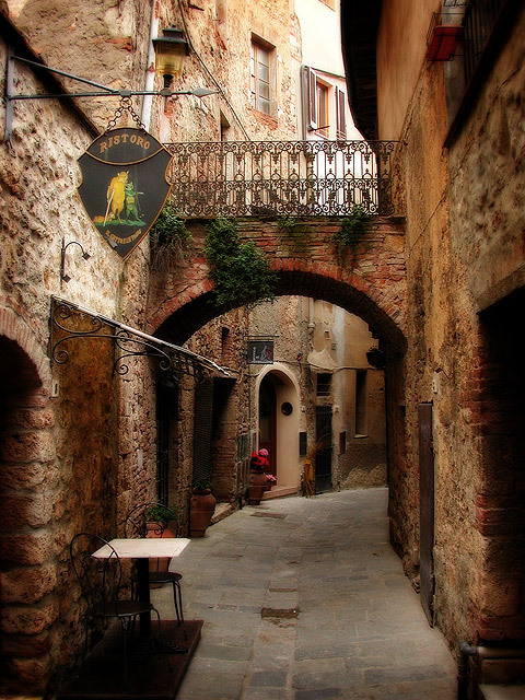 Arched Passage, Marittima, Italy