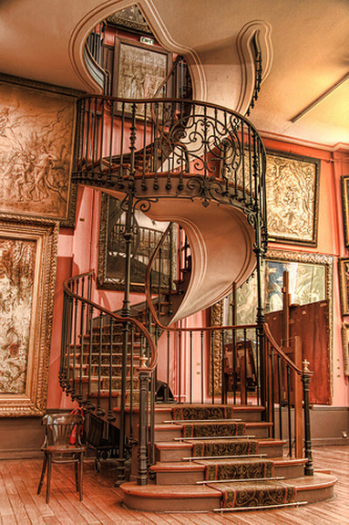 Spiral Staircase, Paris, France