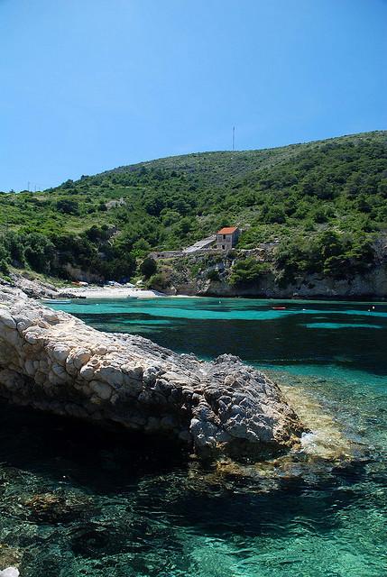 The Adriatic Coast near Hvar, Croatia