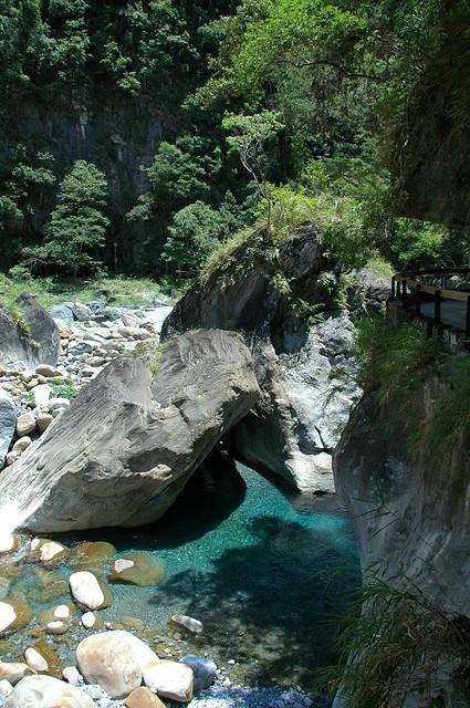 Shakadang Trail in Taroko Gorge, Taiwan