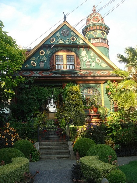Victorian House, Seattle, Washington