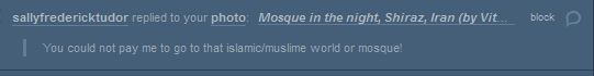There is no room for racism on my blog! O.o