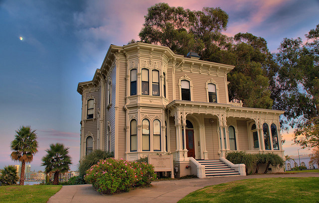 Camron-Stanford House in Oakland, California, USA