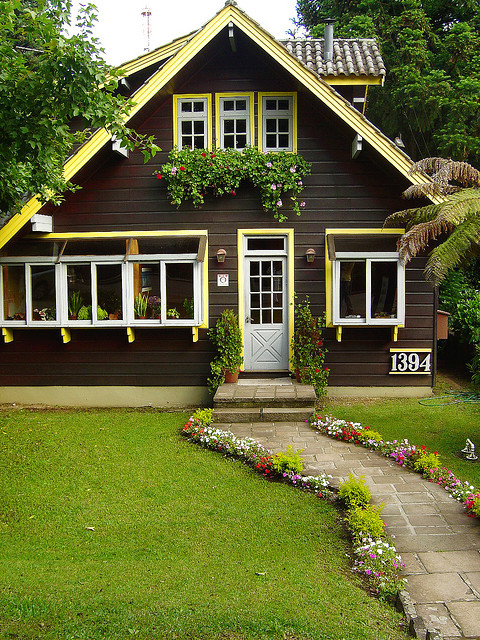 Lovely house in Gramado, a city founded by german settlers in Rio Grande do Sul, Brazil