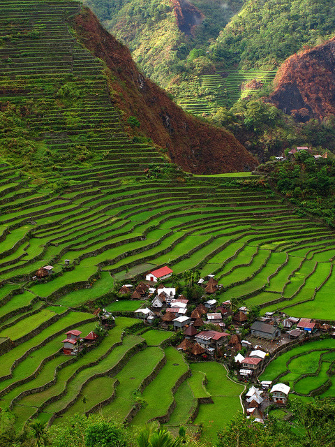 Batad Rice Terraces in Ifugao Province, Philippines