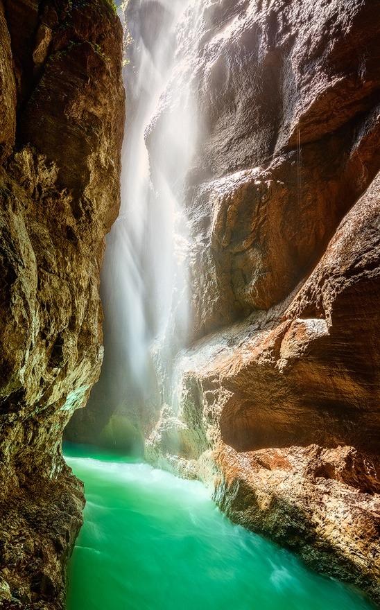 The Partnach Gorge, Germany