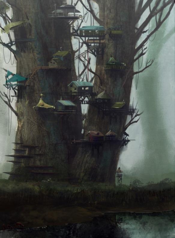 Tree Village, Fantasy Land