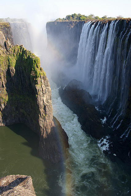 The smoke that thunders, Victoria Falls, Zambia/Zimbabwe