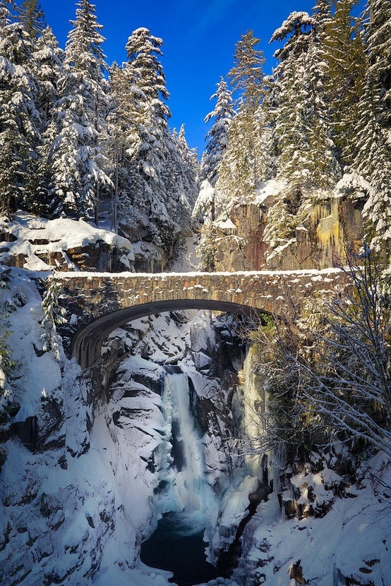 Christine Falls, Rainier National Park, Washington