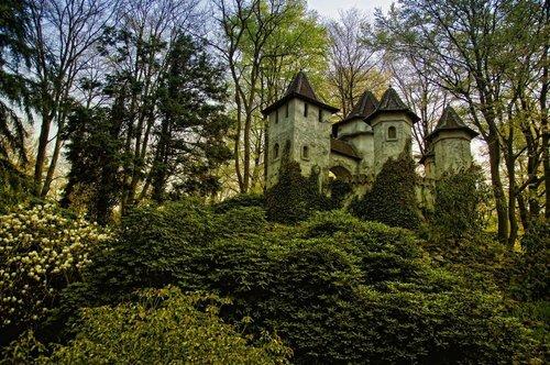 Ivy Castle, Efteling, The Netherlands