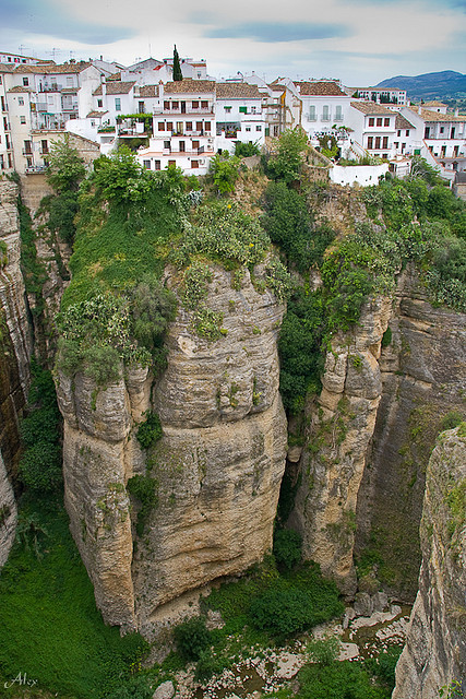 Living on the edge, Ronda, Spain