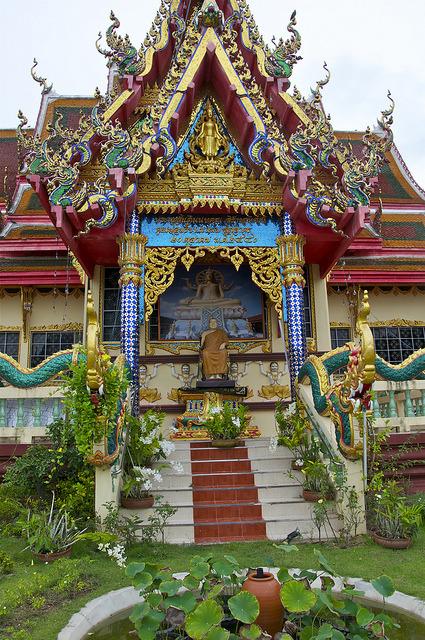 Wat Plai Laem Temple in Koh Samui Island, Thailand