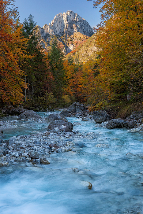 "theskysafire:"" Jerebica""Triglav National Park, Slovenia."