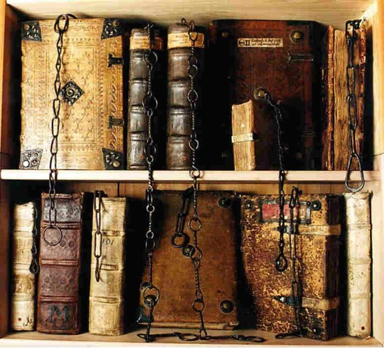 Ancient and Antique Books, Chetham Library, Manchester, England