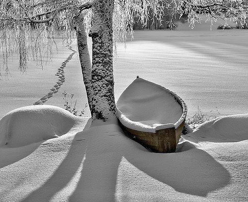 Snow Lake, Stevens Point, Wisconsin