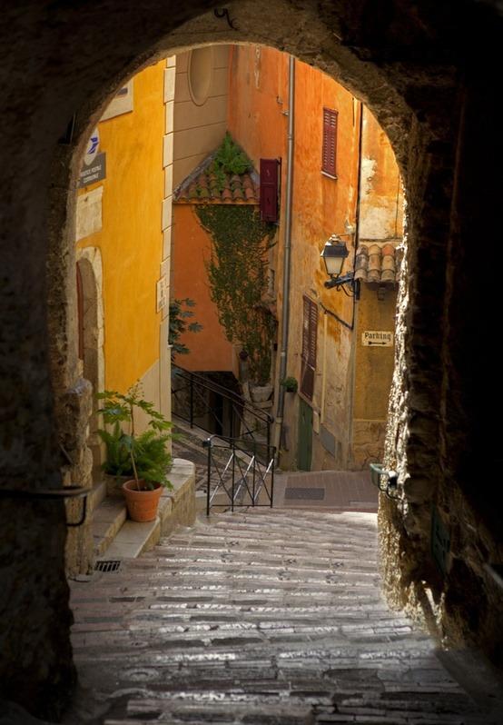 Medieval Passage, Roquebrune, France
