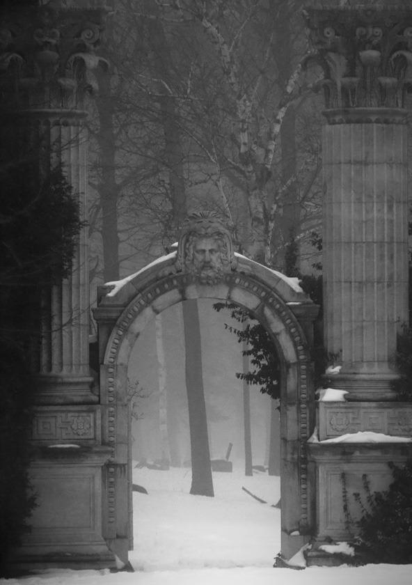 Entry Gate, The Guild Inn, Toronto, Canada