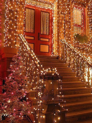 Christmas Stairs, Brooklyn, New York