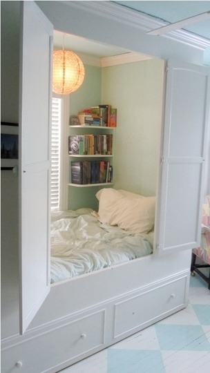 Hidden Reading Nook, Louisville, Kentucky