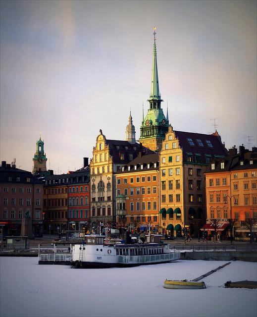 Gamla Stan winter, Stockholm, Sweden