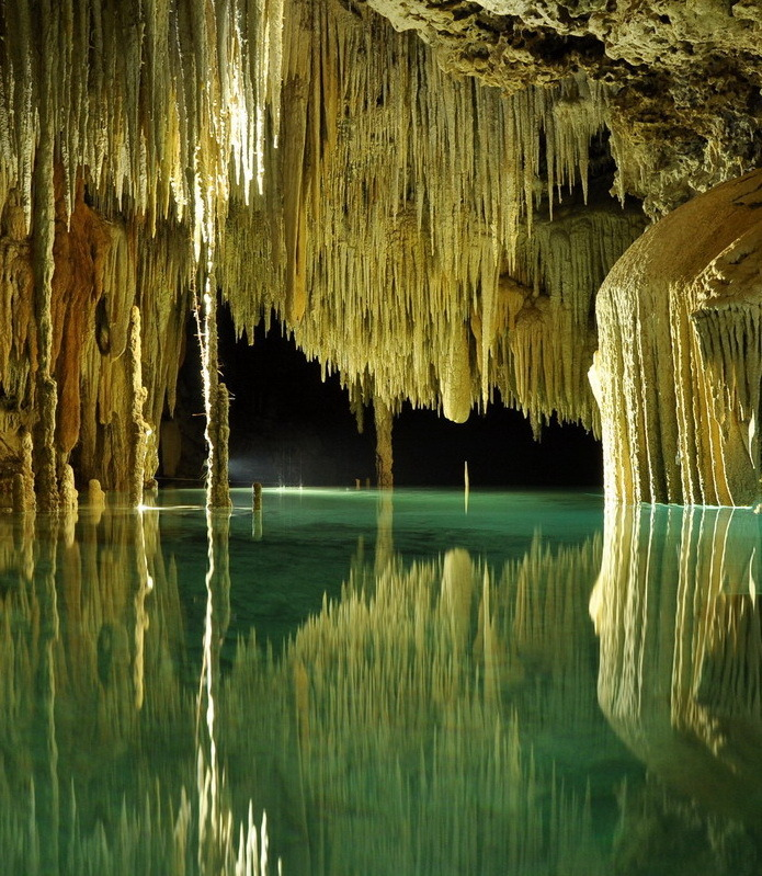Exploring the amazing underground rivers of Riviera Maya, Rio Secreto, Mexico