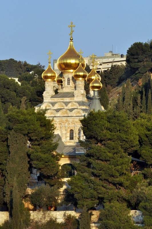 Church of Saint Mary Magdalene, Mount of Olives, Jerusalem