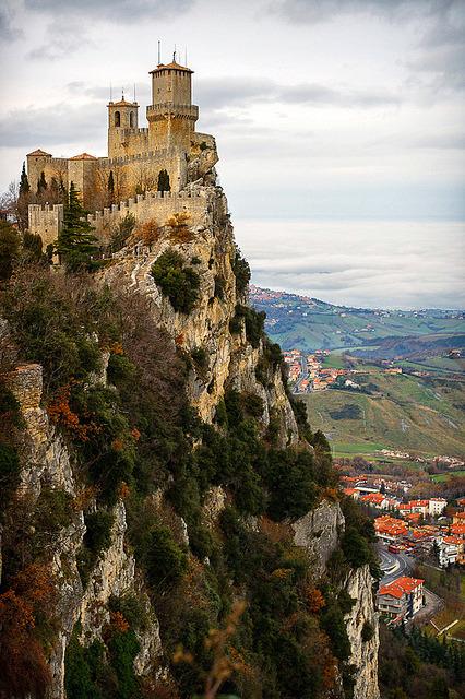 Guaita fortress on Monte Titano, San Marino