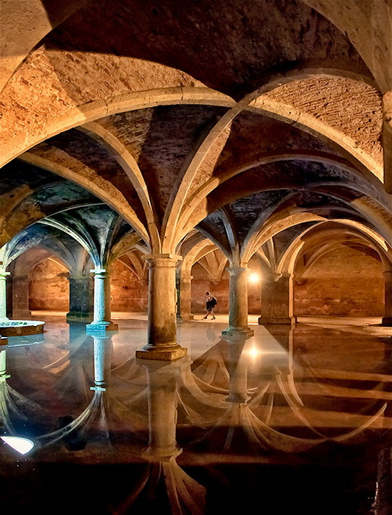 The Portuguese Cistern in El Jadida, Morocco